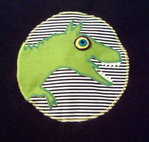 Pískacie tričko Dinosaurus