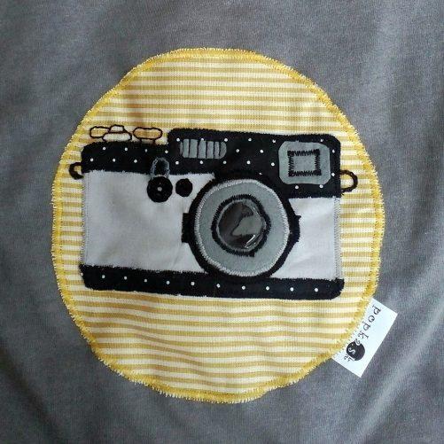 Pískacie tričko Fotoaparát
