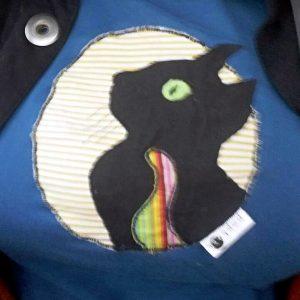 Pískacie tričko Mačka