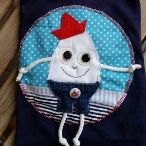 Pískacie tričko Vajce na vandrovke