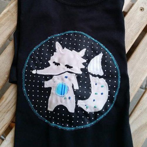 Pískacie tričko Vlk